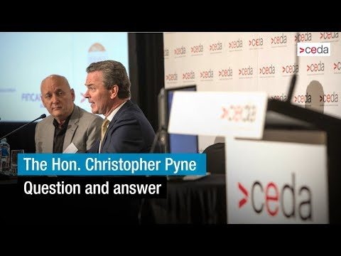 Australia's place in the world - Question and answer with the Hon. Christopher Pyne