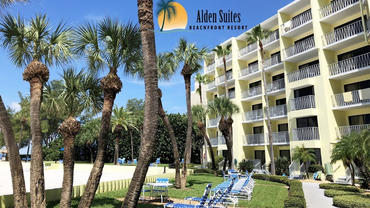 Alden Suites Beach Resort Beachfront Suite 541 Room Tour St Pete Florida View