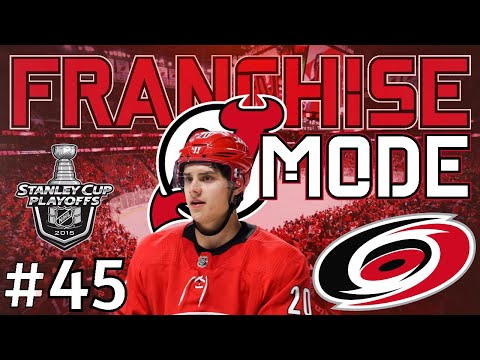 "NHL 21 New Jersey Franchise Mode |#45| ""ROUND 1 VS CAROLINA"""