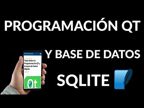 Todo Sobre la Programación QT y la Base de Datos SQLite