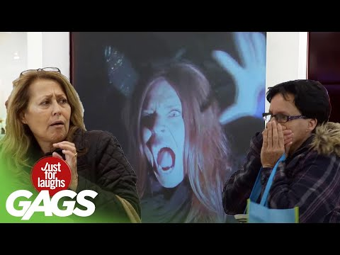 Best of Paranormal Pranks Vol. 4   Just for Laughs Compilation
