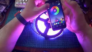 bluetooth LED Strip Controller / Bluetooth контроллер для светодиодной ленты