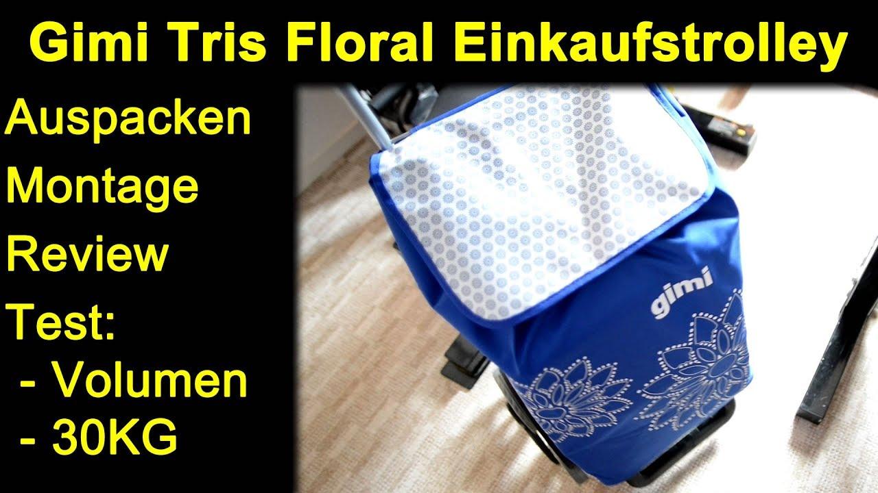 Gimi Einkaufstrolley Family Thermo mit 45 Liter Fassungsverm/ögen in Blau