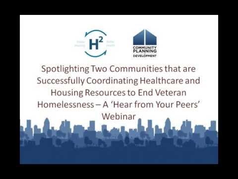 Spotlighting Communities that are Successfully Coordinating Healthcare & Housing - 10/6/15