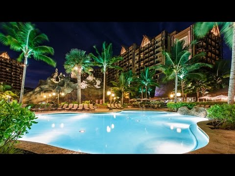 Aulani: A Disney Resort And Spa Video Tour Pools And More