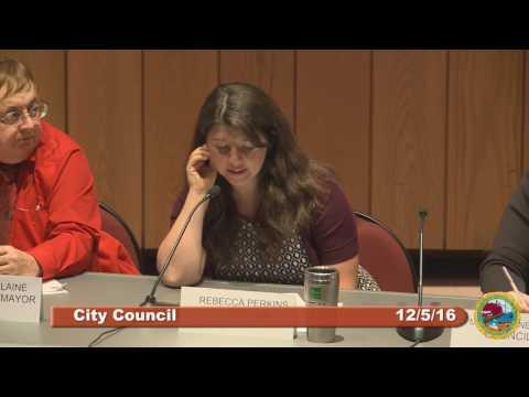 City Council 12.5.16