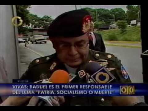 DECLARACIONES DEL GENERAL ÁNGEL VIVAS EL 01/07/2008