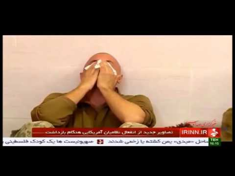 10 American Marines and Sailors Crying after arrested by iran IRGC navy