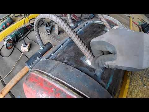 Супер гриль+смокер+мангал из газовых баллонов. Своими руками. Часть 2 /GRILL+SMOKER HAND MADE