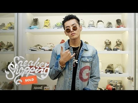 Kris Wu Goes Sneaker Shopping With Complex