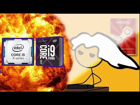 What it feels like to get a Intel core i9-7900X