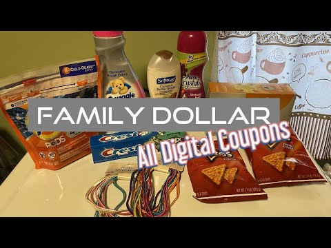 FAMILY DOLLAR $5 OFF $25
