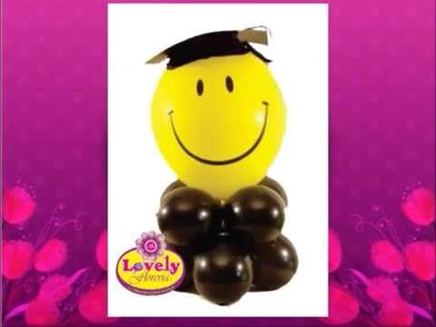 Lovely ARREGLOS PARA GRADUACIONES - YouTube