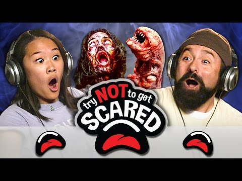 Thumbnail: TRY NOT TO GET SCARED CHALLENGE (REACT)