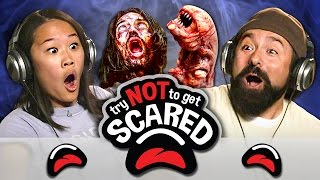 vermillionvocalists.com - TRY NOT TO GET SCARED CHALLENGE (REACT)