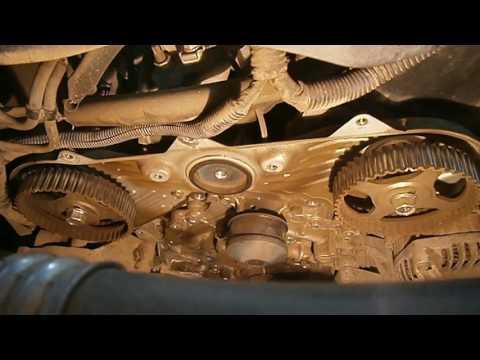 Фото к видео: Mitsubishi Outlander V6 (6B31) - Замена ремня ГРМ