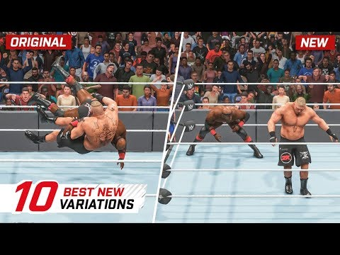 WWE 2K19 Top 10 New Moves Variations (Animations) #5 | Titans Pack DLC