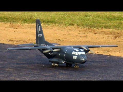 Alenia Aermacchi MC-27J Spartan scratchbuild RC model    FIRST LOOP ATTEMPT