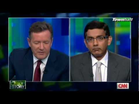 [Pt. 1] Piers Morgan Ridicules D'Souza; Then Agrees With Him