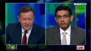 pt 1 piers morgan ridicules d souza then agrees with him
