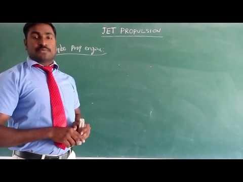 JET PROPULSION ( Turbo Prop Engine )