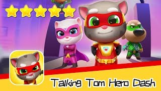 Talking Tom Hero Dash Run Game Day71 Walkthrough Raccoon Chase Recommend index five stars