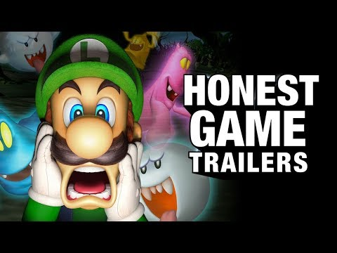 LUIGI'S MANSION (Honest Game Trailers)