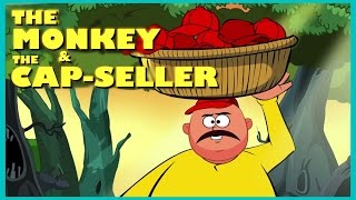 The Monkey and The Cap Seller Story | English Story For Kids