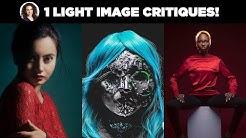1 Light Setup Image Critiques by Lindsay Adler