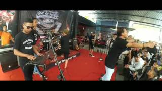 FLYING DISTORTION at Nicetime Caffe [Don't Let Me Down Cover]