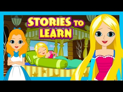 Stories To Learn For Kids || English Learning Stories  Tia and Tofu Stories