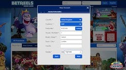 Betreels Casino - How to register?