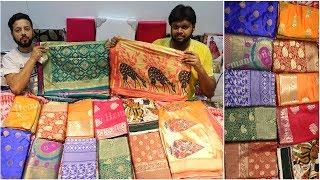 800 की 10 साड़ियां | Banarasi, Silk, Kolkata Special Saree Collection 2019