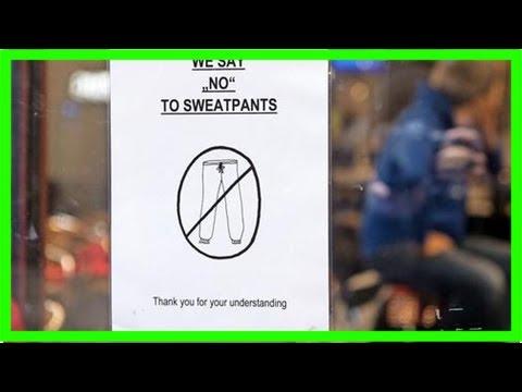 Verbot in stuttgart – café will jogginghosen verbannen – haz – hannoversche allgemeine