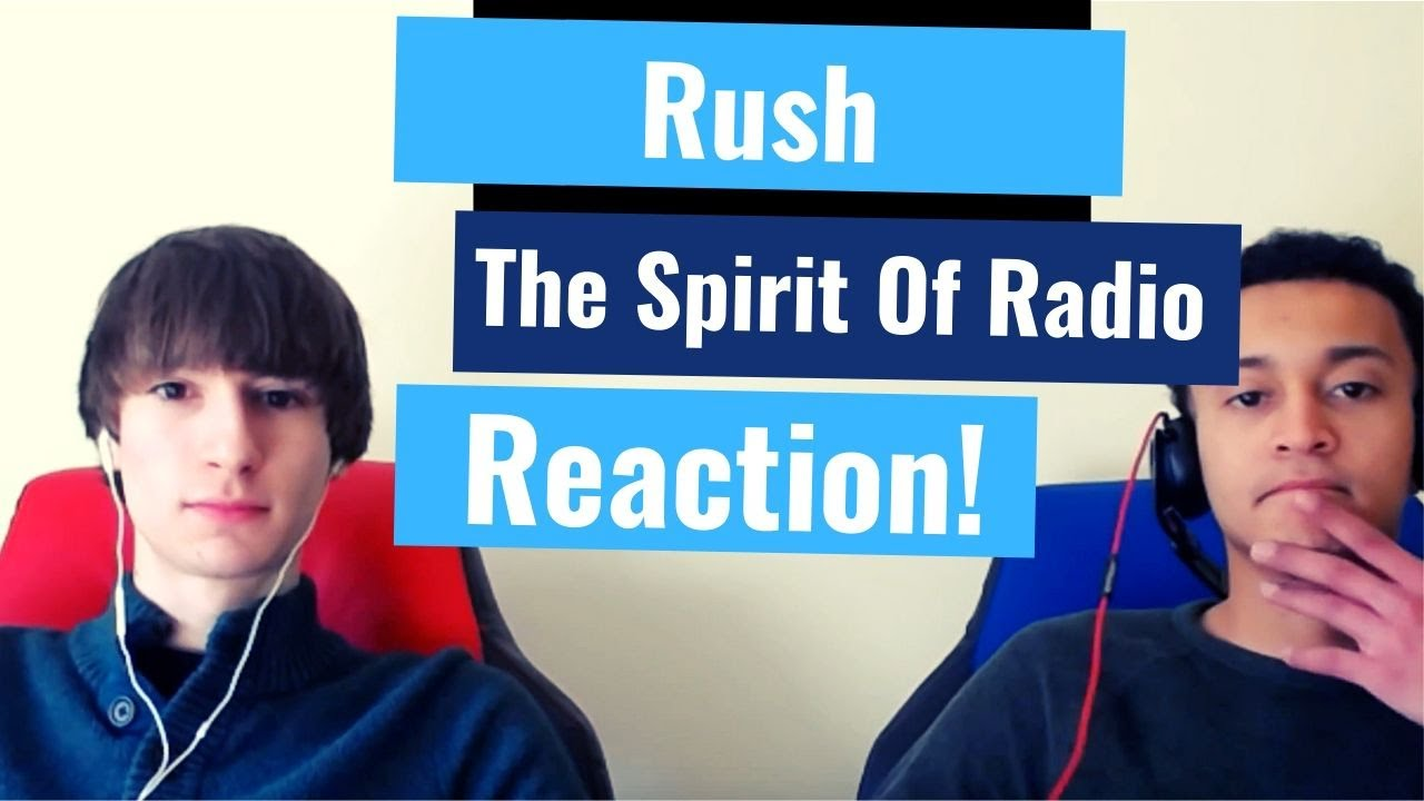 Rush - The Spirit of Radio | Reaction