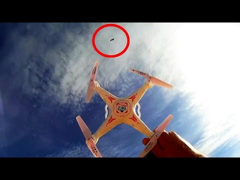 HY X6050 Drone Test Flight with UFO Appearance!