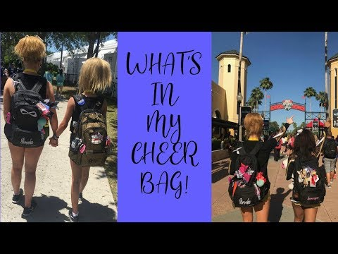 Updated What's in my Cheer Bag
