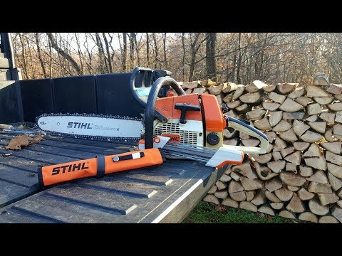 #103 How To Sharpen Your CHAINSAW By Hand With File And Stihl 2-1 Sharpener
