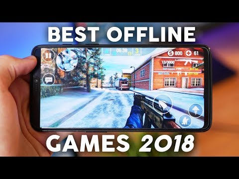 TOP 10 FREE Offline Android/iOS Games Of 2018 (NO Internet/Wifi Required)