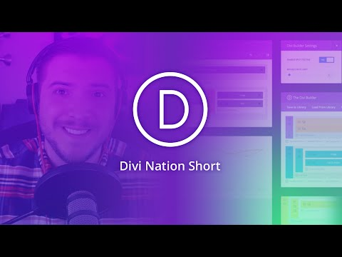 How to Add Icons to Divi Menus - Divi Nation Short