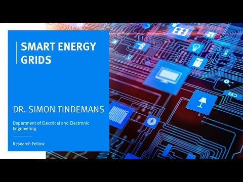 Dr. Simon Tindemans - Smart Energy Grids