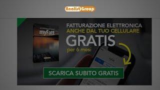 myFatt Software Fattura Elettronica: download gratuito e creazione prima fattura