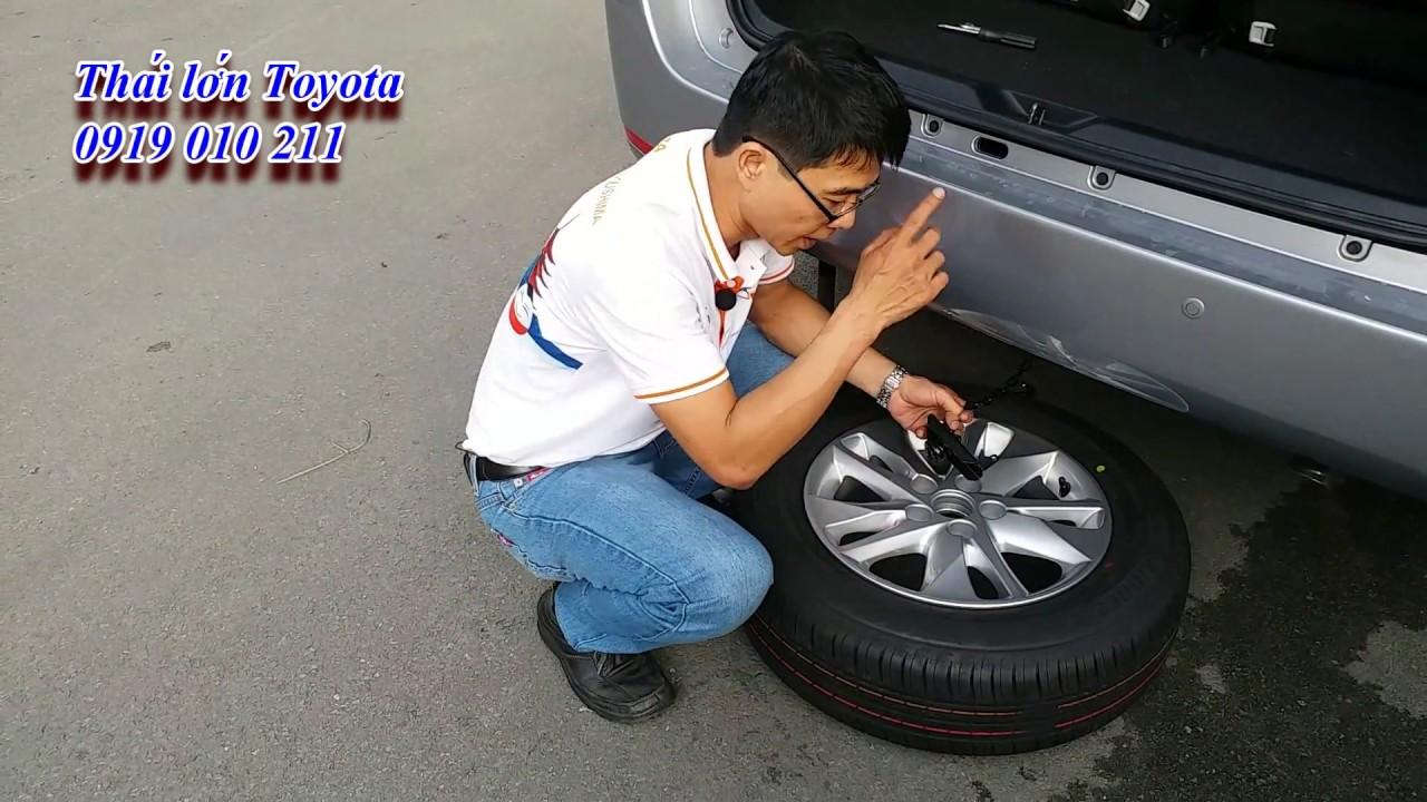 Thay lốp dự phòng | Hướng dẫn thay lốp dự phòng xe Innova - Fortuner | Thái Lớn