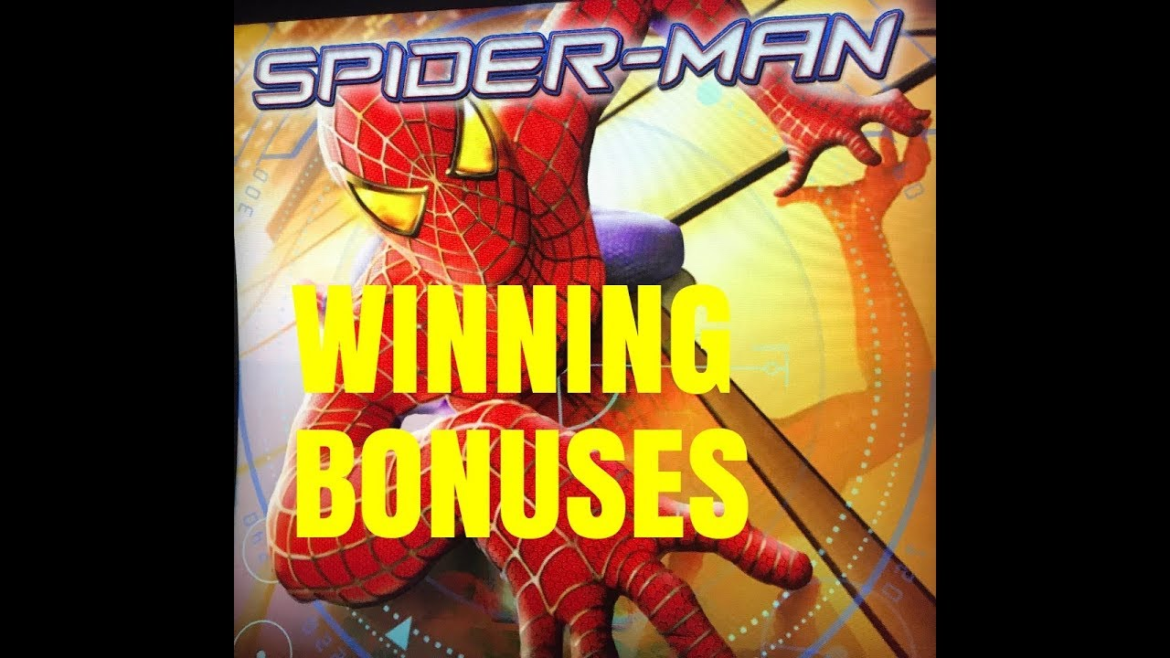 Spiderman Slot Machine