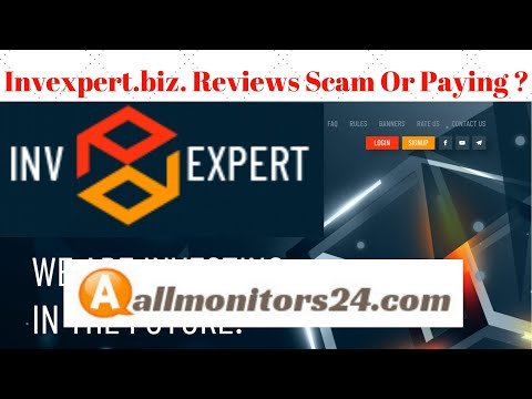 Invexpert.biz, Reviews Scam Or Paying ?