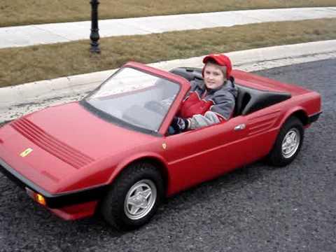 Ferrari Agostini Auto Junior Mondial Cabriolet