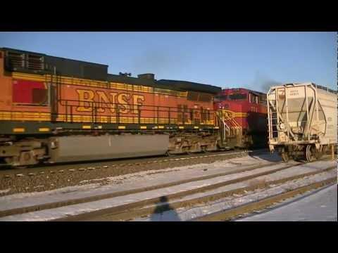 BNSF 4606 W W. Oregon, ILL Jan.28.2012