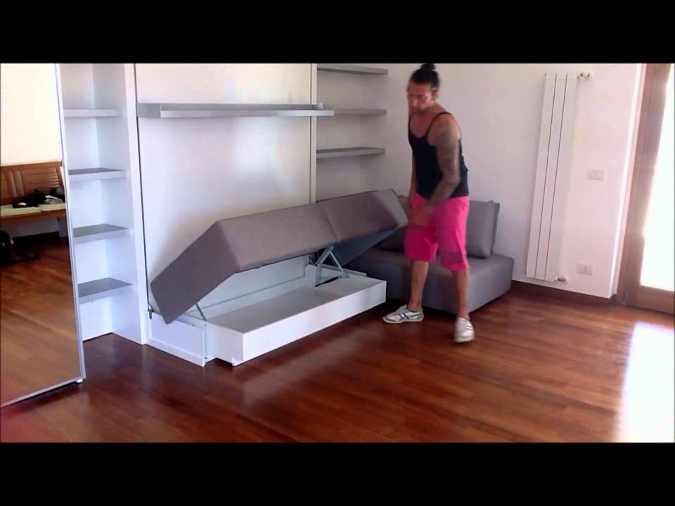 Arredamento monolocale roma con letti trasformabili youtube for Occasioni arredamento roma