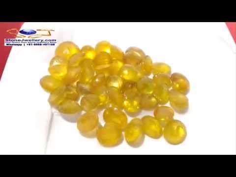 Bangkok Yellow Sapphire - Pukhraj Stone Wholesaler in Delhi | StoneJwellery | +91-9868-401180 | # 2