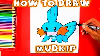 How to Draw Pokemon - How to Draw Mudkip